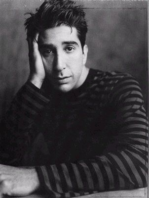 """""""When times get tough, you learn who your real friends are."""" -David Schwimmer"""