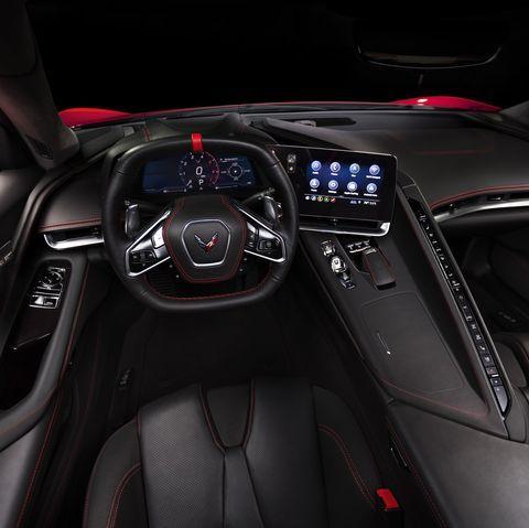 The Real Hero Of The New Corvette C8 Is Its Luxe Cockpit Interior Corvette Cockpit Chevrolet Corvette