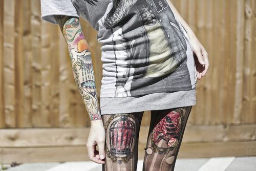 thighs and sleeves