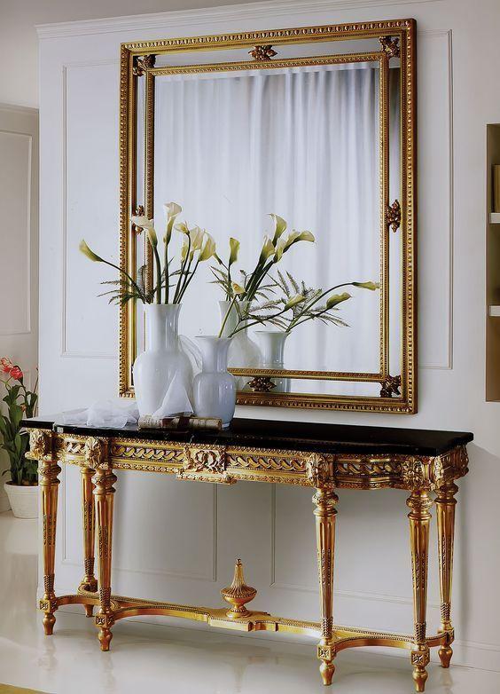 Italian Style Interior Design Contemporary Console Table Luxury Furniture
