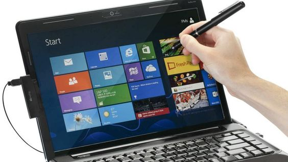 how to turn any laptop into touchscreen