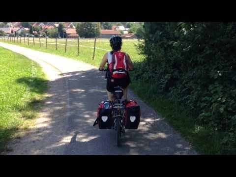 Pedaleando por la Ruta Romántica, primer vídeo del viaje: http://www.viajarenbicicleta.es/video-ruta-romantica-pedaleando/