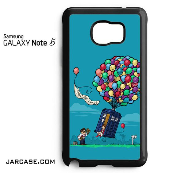 UP in Doctor Who Phone case for samsung galaxy note 5 and another devices
