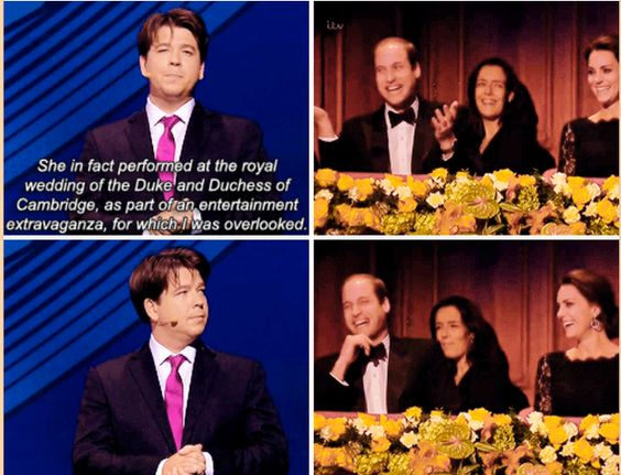 And then delivered this excellent shade.   19 Times Michael McIntyre Was Actually Really Fucking Funny