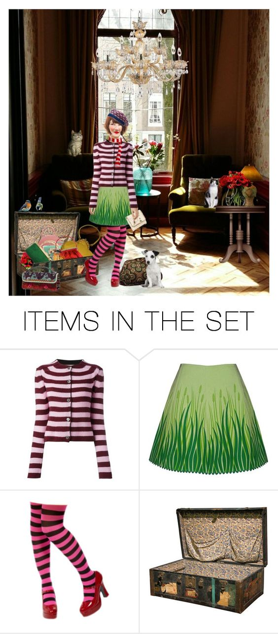 """We went to visit the bagmuseum in Amsterdam, we loved it!"" by vlaggetje ❤ liked on Polyvore featuring art"
