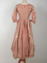 National Trust Inventory Number 1362010  Date	1775  Materials	Linen, Metal, Muslin, Silk  Collection	 Killerton, Devon (Accredited Museum)