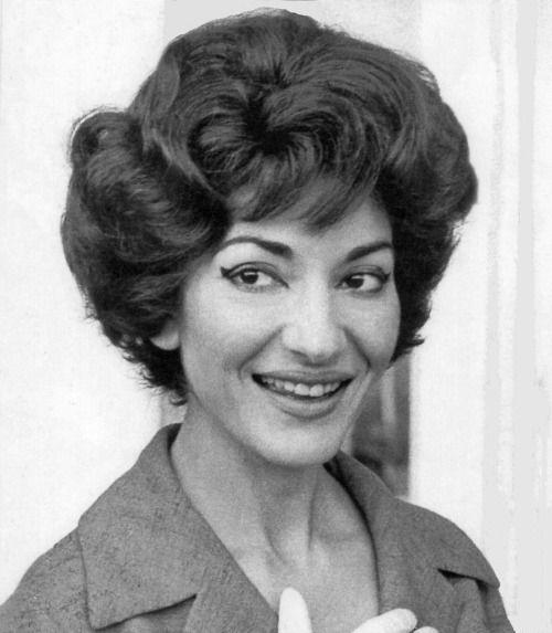 Maria Callas Maria Callas Great Hair Maria