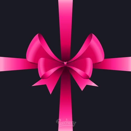 Present bow illustration