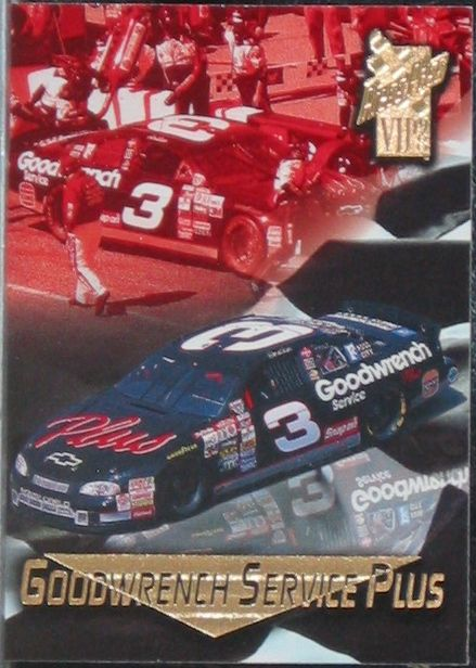 https://nascarniche.blogspot.com/  Dale Earnhardt Press Pass VIP 1998 Card No. 37  Nascar