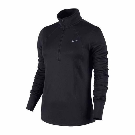 Nike Long-Sleeve Racer Half-Zip Top