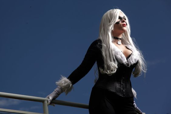 Black cat cosplay by karollhell.deviantart.com on @DeviantArt