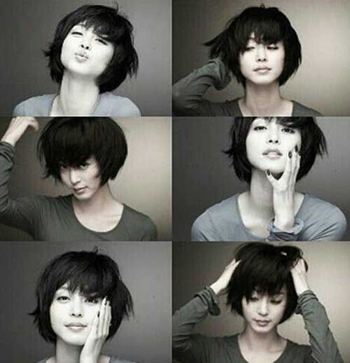 25  Short Black Haircuts | http://www.short-hairstyles.co/25-short-black-haircuts.html