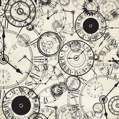 Kaisercraft - Time Machine - Gloss Specialty Paper