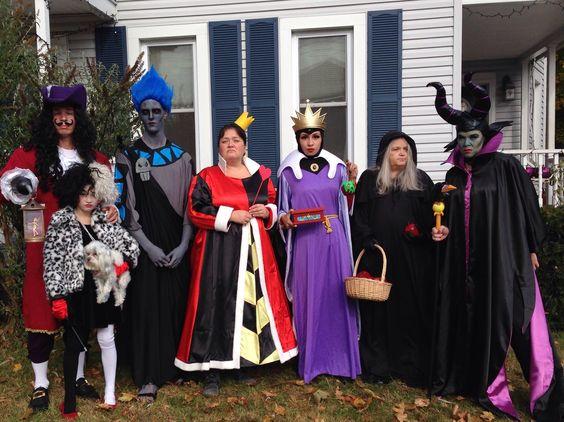 diy disney villains halloween costumes halloween pinterest disney halloween kost me und. Black Bedroom Furniture Sets. Home Design Ideas