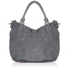 Liebeskind Tasche GretaC aus Wildleder in grau