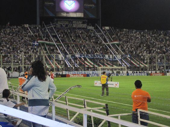 Velez Futbol Match in Buenos Aires