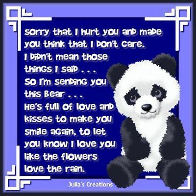 i am sorry poems i love you so sorry that i hurt you