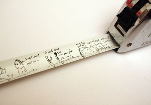 What an awesome idea! Perfect for a marriage proposal or even a diary.