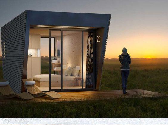 La Drop Box Avec Images Bungalow Moderne Maison Modulaire