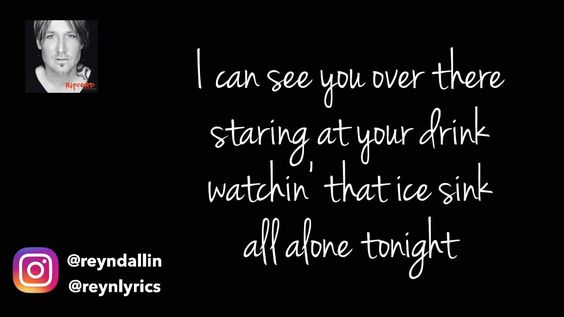 Another awesome sing with awesome lyrics by Keith Urban! Blue Ain't Your Color