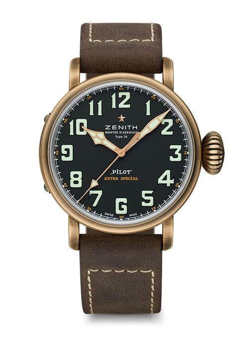 Official Zenith Website Pilot Type 20 Extra Special Discover A