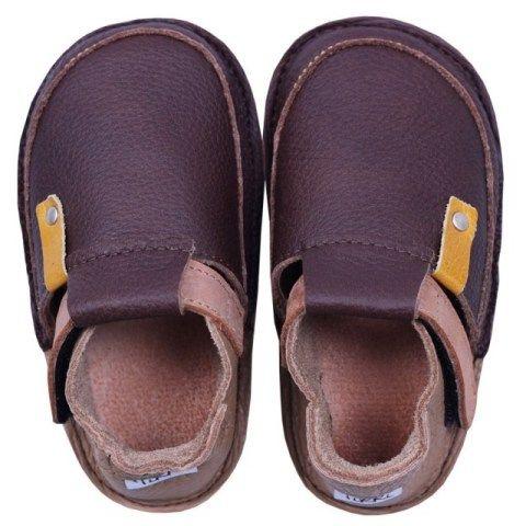 Buciki Skorzane Tikki Coffee Baby Shoes Shoes Outdoor Shoes