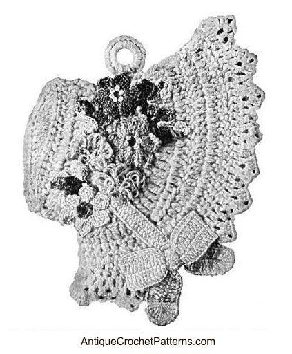 Free Crochet Pattern For Easter Bonnet : Pinterest The world s catalog of ideas