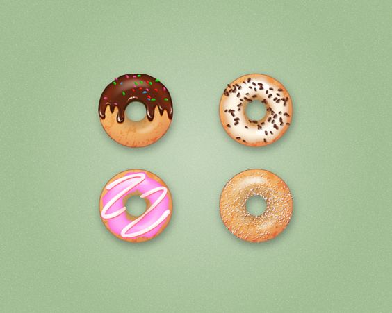 Yummy! How to Create Delicious Donut Icons in Adobe Illustrator