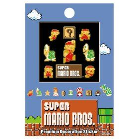 Super Mario Bros. stickers スーパーマリオブラザーズ プレミアムデコレーションステッカー