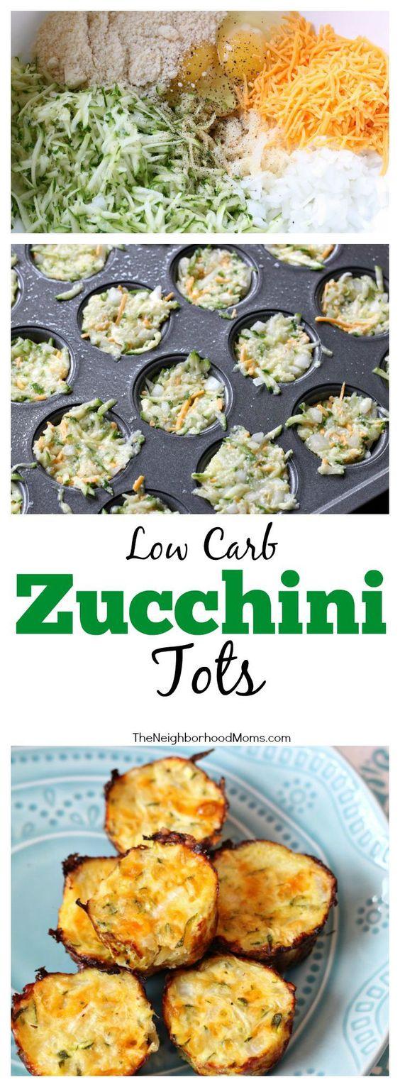 Low Carb Zucchini Tots