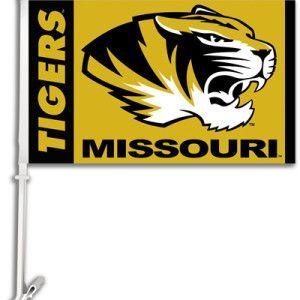 Tigers Car Flag