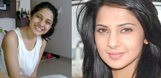 7 Pictures Of Jennifer Winget Without Makeup Without Makeup Jennifer Winget Pulled Back Hairstyles