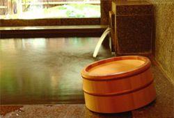 Hida Takayama Onsen Ryokan (Inn) Honjin Hiranoya Hanachoan Bath