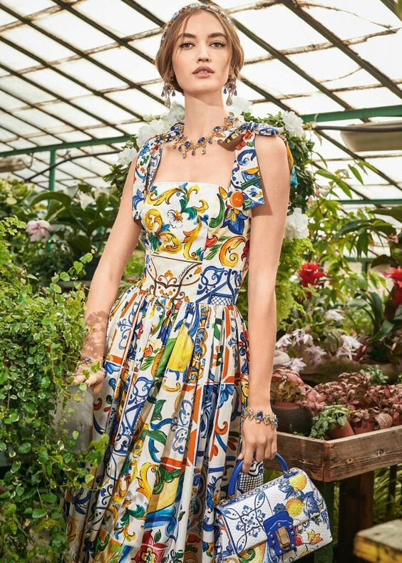 Fall Winter 2018-19 Women's Collection: I Love Majolica | Dolce & Gabbana