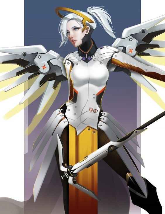 Overwatch Mercy by long5009.deviantart.com on @deviantART