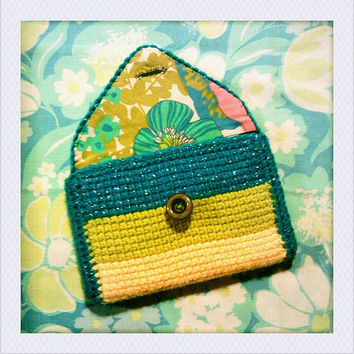 tunisian crochet case for my kindle fire