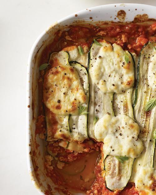 "Zucchini-Ribbon ""Lasagna"" - Whole Living Eat Well"