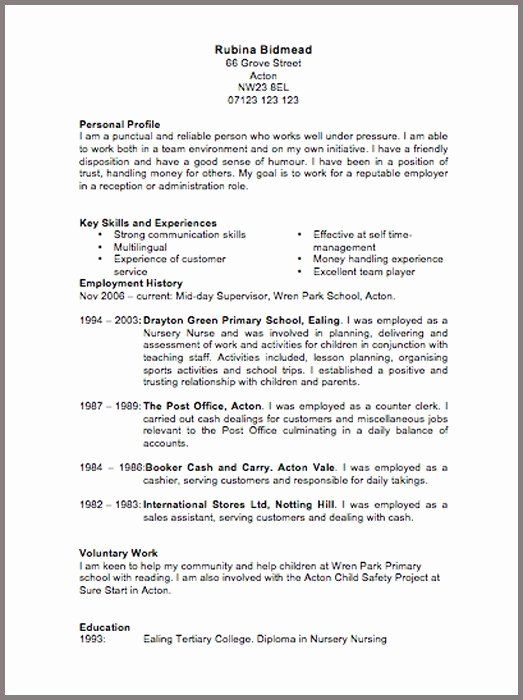 Air Force Position Paper Template Beautiful Cv Template 6 Resume Cv Cv Template Free Cv Examples Downloadable Resume Template