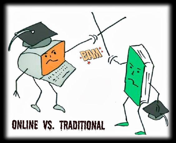 Online courses vs. traditional courses?