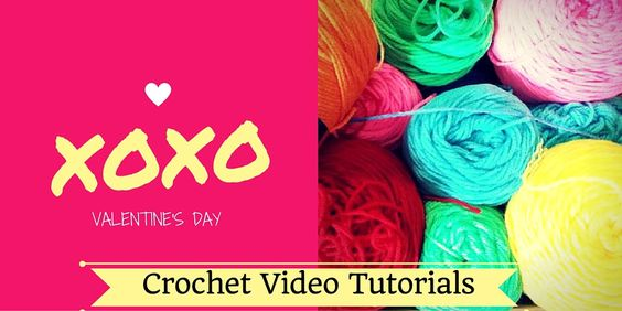 Quick Video Tutorials - Valentine's Day Crochet Projects Valentine's Day will be here before you know it. Make some special for the big day.    Check out the free video tutorials below to see how to make some today.  I have other great patterns for sale in the Poochie Baby shop.....   #crochet #crochet heart #crochet rose #crochet video #ear warmer #earwarmer #headband #valentine's crochet #valentine's day