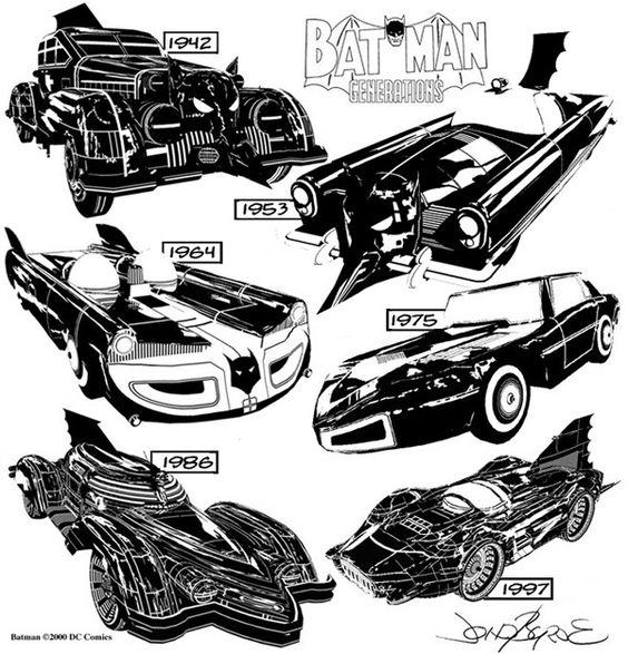 Batmobiles -Batman Generations