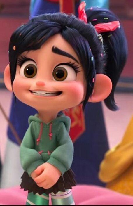 Vanellope Von Schweetz Schweetz Vanellope Von Desenhos De Personagens Da Disney Imagens De Disney Disney Fofa
