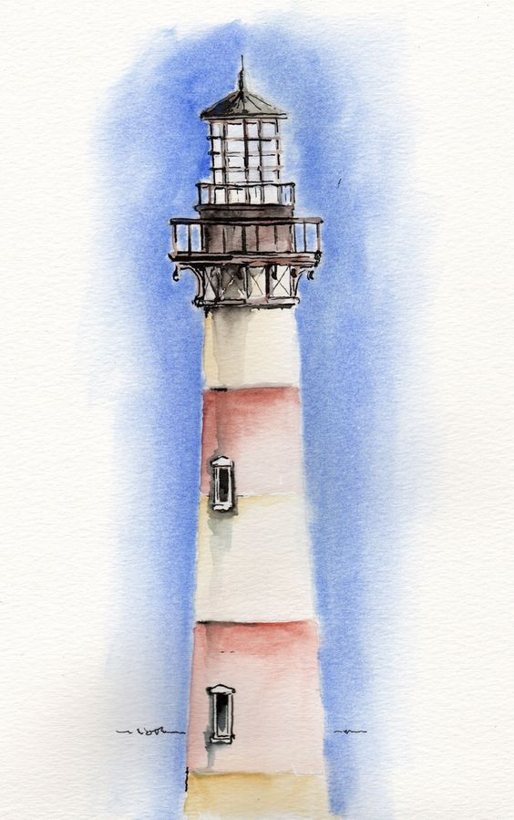 Morris Island Lighthouse by Mike Smith