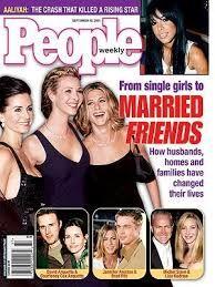 Resultado de imagen para friends magazine cover
