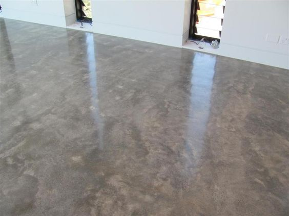 Burnished concrete floor finish google search home for Floor wax for concrete floors
