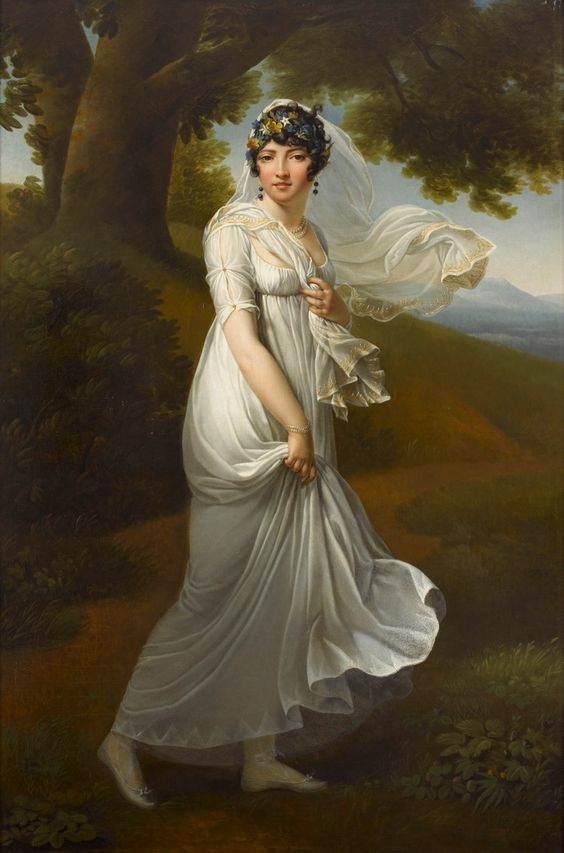 Early 1800s - Carolina Murat, Regina delle Due Sicilie by ?: