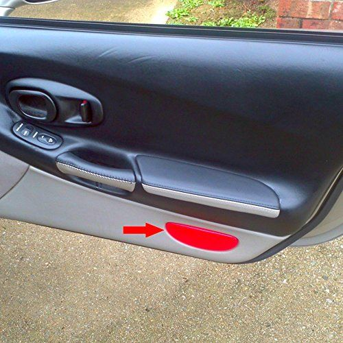 C5 Corvette Inner Door Panel Reflector Plate Fits All 97 Through 04 Corvettes Kulon 3 In 2019 Panel Doors Jeep Seat Covers Truck Seat Covers