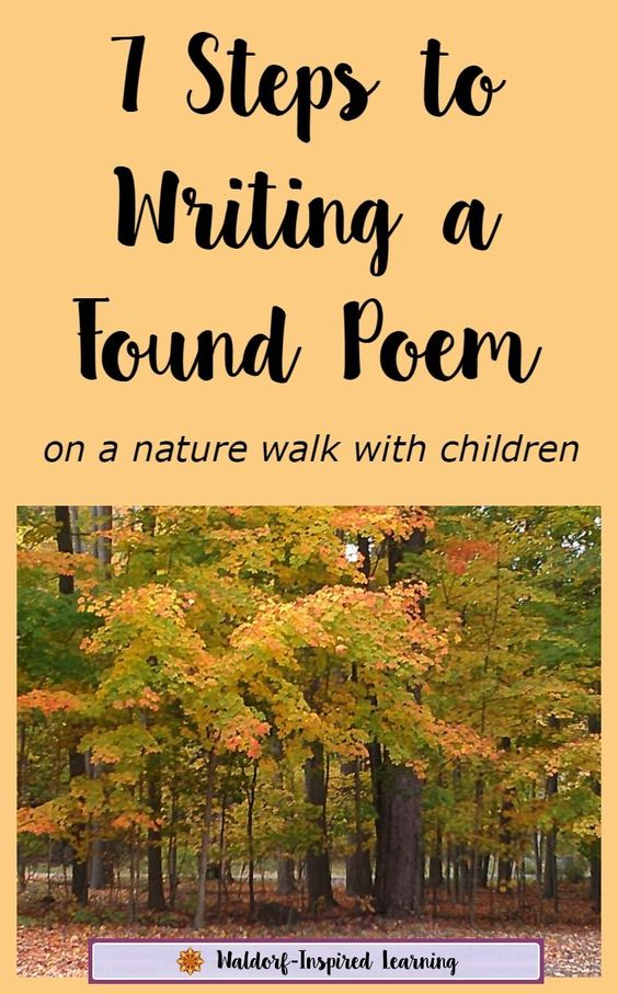 7 steps to writing a narrative poem