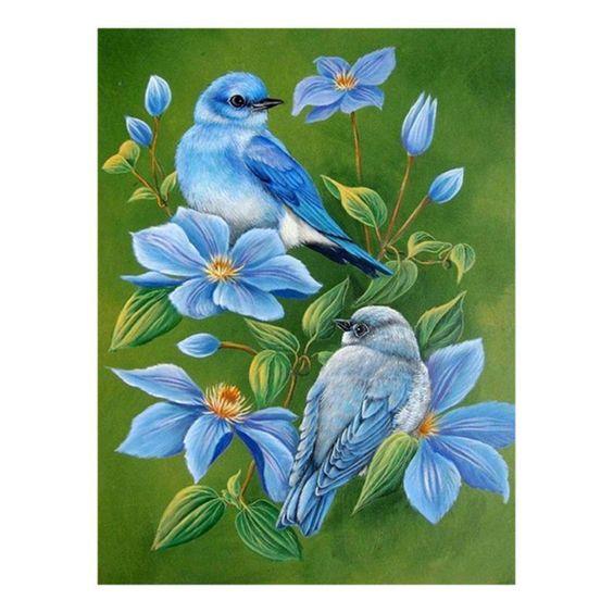 $4.97 AUD - Diy 5D Diamond Painting Embroidery Flower Bird Cross Craft Stitch Kit Home Decor #ebay #Home & Garden