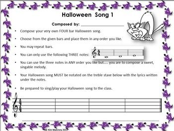 halloween themed music list